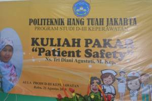 "Kuliah Pakar ""patient safety"""