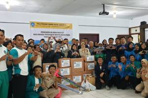 pelaksanaan AKSI PEDULI BANJIR 2020 POLITEKNIK HANG TUAH JAKARTA